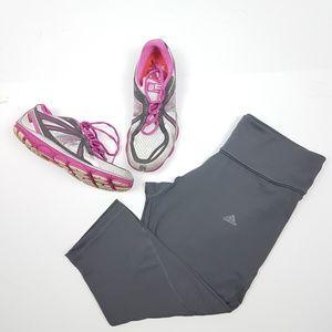 Adidas • Gray Climalite Performance Capri Pants